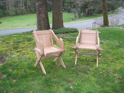 Glastonbury chairs