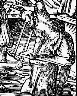 Detail from Standebuch, Jost Amman, 1568