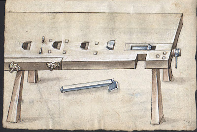 Martin Loffelholz's workbench