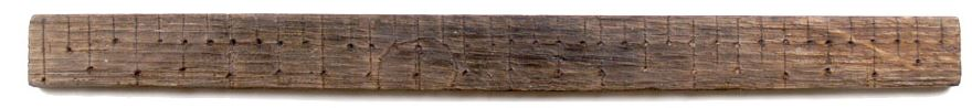 Ruler from the Mary Rose